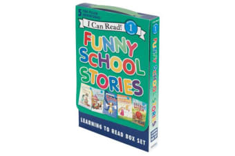 Funny School Stories - Learning To Read Box Set