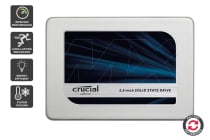 """Refurbished Crucial 525GB MX300 SATA 2.5"""" 7mm with 9.5mm adapter SSD (CT525MX300SSD1)"""