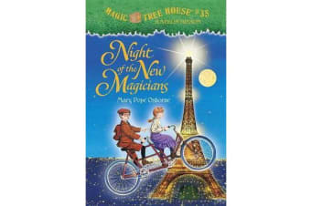 Magic Tree House #35 Night Of The New Magicians