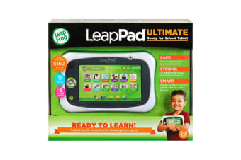 LeapPad Ultimate Tablet with Ready For School Bundle in Green