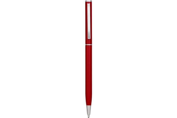 Bullet Slim Aluminium Ballpoint Pen (Red) (One Size)