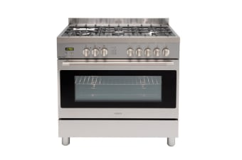 Euro Oven Freestanding 900mm Gas Stainless Steel- EFS900GX
