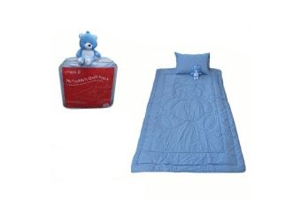 My Teddy's Quilt Pack Blue Single by Phase 2