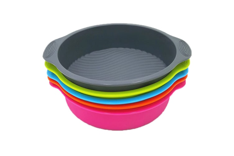 1 pcs Silicone 9 inch cake mold  pan Y000013