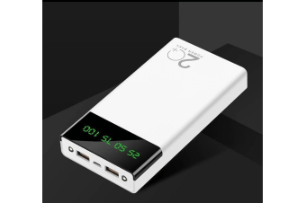 20000mAh Power Bank with LED Display, Dual USB Fast Charge Portable Charger