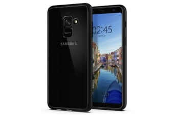 Spigen Galaxy A8 (2018) Ultra Hybrid Case Black