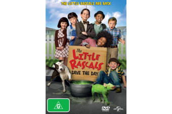 The Little Rascals Save the Day DVD Region 4