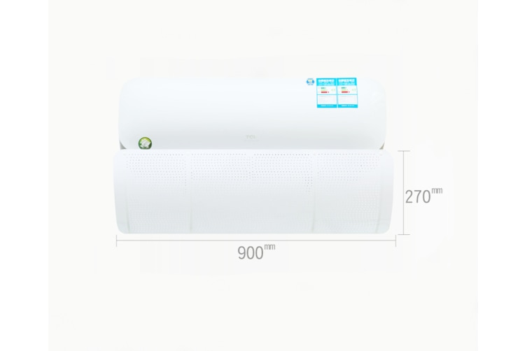 Environmentally friendly odorless air conditioning windshield with orifices  2