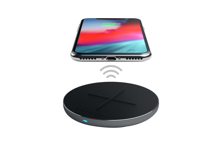 Satechi USB-C PD & QC Wireless Charger - Space Grey
