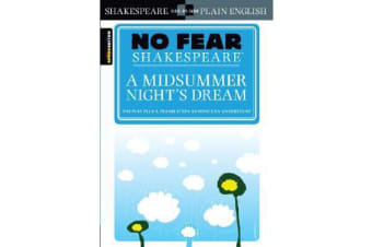 A Midsummer Night's Dream (No Fear Shakespeare)