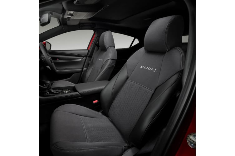 New Genuine Mazda 3 BP Front Seat Cover x1 2019 Accessory Part BP11ACSCF