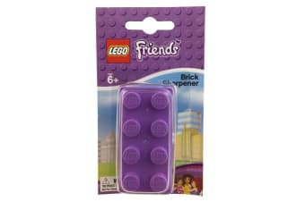 Lego Manual Friends Brick Pencil Cutting Sharpener Tool for Kids School/Office