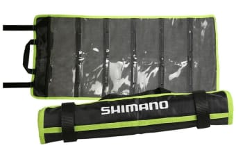 Shimano Game Fishing Lure Wrap - Breathable Lure Wrap with 6 Sealable Sleeves