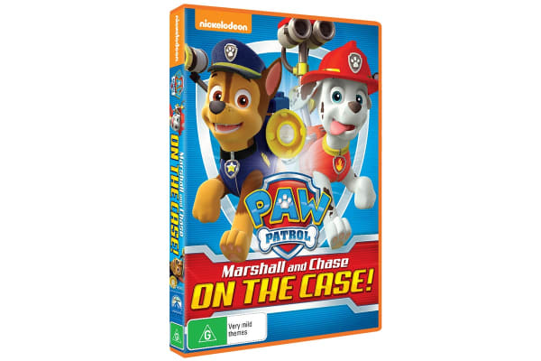 Paw Patrol: Marshall and Chase On the Case! DVD