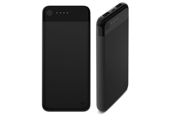 Belkin 10,000mAh Power Bank w/ USB/Lightning Port - Black