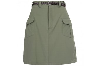 Trespass Womens Quora Belted Skirt (Herb)