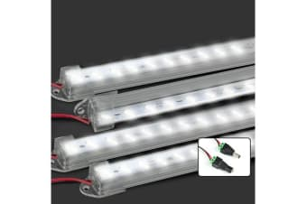 4X Cool White 12V 8520 Led Strip Lights Bar