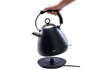 Kogan 2200W Vulkan Cordless Kettle (Matte Black)