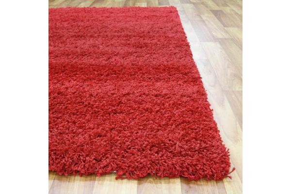 Kensington Shag Rug - Red 330x240cm