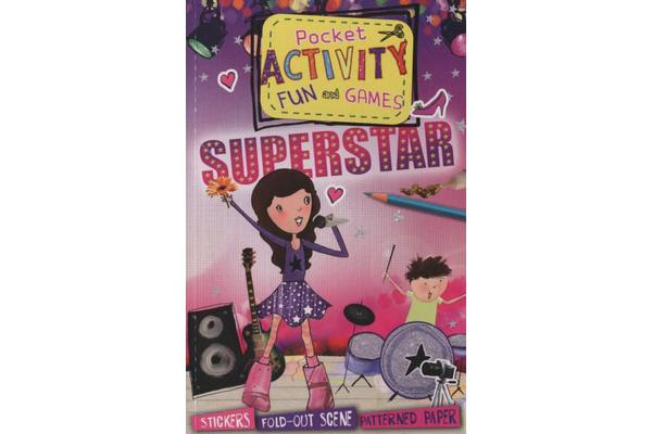 Pocket activity fun and games - Superstar