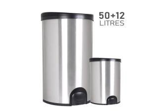 White Magic Smart Bin Combo 50L and 12L