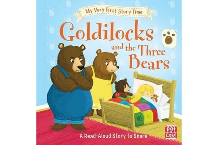 My Very First Story Time: Goldilocks and the Three Bears - Fairy Tale with picture glossary and an activity