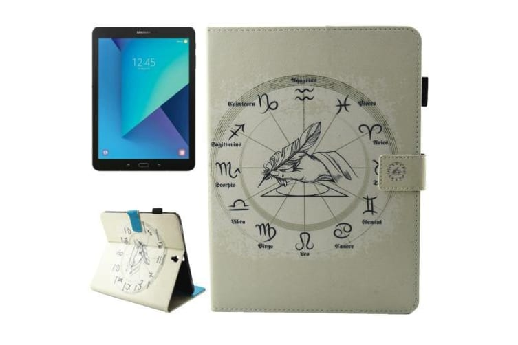 For Samsung Galaxy Tab S3 SM-T810 T815 Case Twelve Constellations Leather Cover