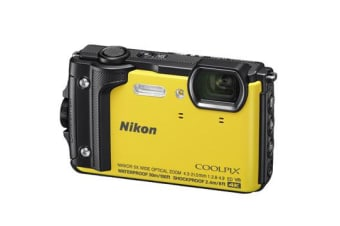 New Nikon Coolpix W300 16MP Digital Camera Yellow (FREE DELIVERY + 1 YEAR AU WARRANTY)