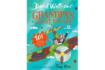 Grandpa's Great Escape - Limited Gift Edition of David Walliams' Bestselling Children's Book