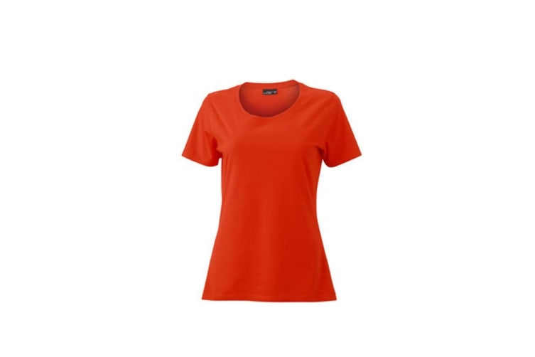 James and Nicholson Womens/Ladies Basic T-Shirt (Grenadine) (XL)