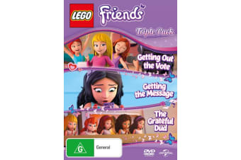 Lego Friends Triple DVD Region 4