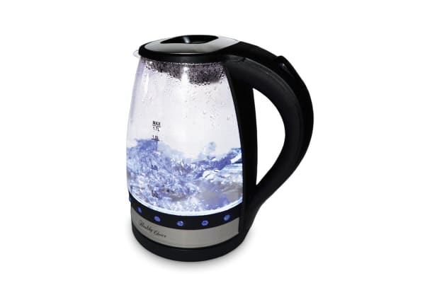 Healthy Choice Cordless Luminous Glass Kettle