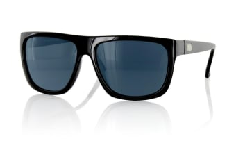 Carve Sanchez Black Polarized Unisex Sunglasses