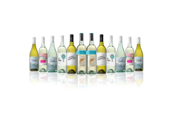 Mixed White Dozen Feat. Yellow Tail Sauvignon Blanc (12 Bottles)