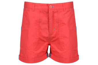 Regatta Childrens/Kids Damzel Shorts (Neon Peach) (11-12 Years)