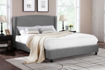 Shangri-La Bed Frame - Levanzo Collection (Grey)