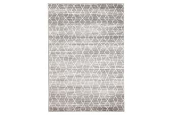 Remy Silver Transitional Rug 400x300cm