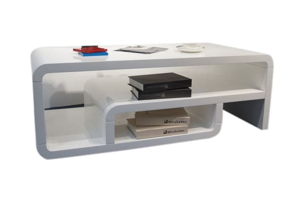 Step Coffee Table (White)