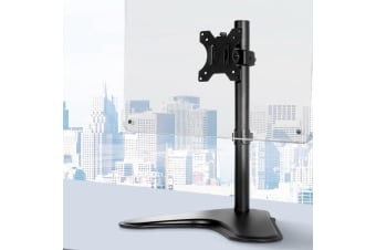 Artiss Single HD LED Monitor Arm Stand TV Mount Bracket Holder Freestanding
