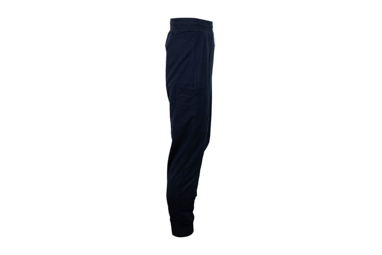 Tommy Hilfiger Men's Modern Essentials Flag Sweatpants (Dark Navy, Size XL)