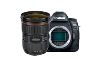New Canon EOS 5D Mark IV with EF 24-70mm f/2.8L II USM Lens Kit (FREE DELIVERY + 1 YEAR AU WARRANTY)