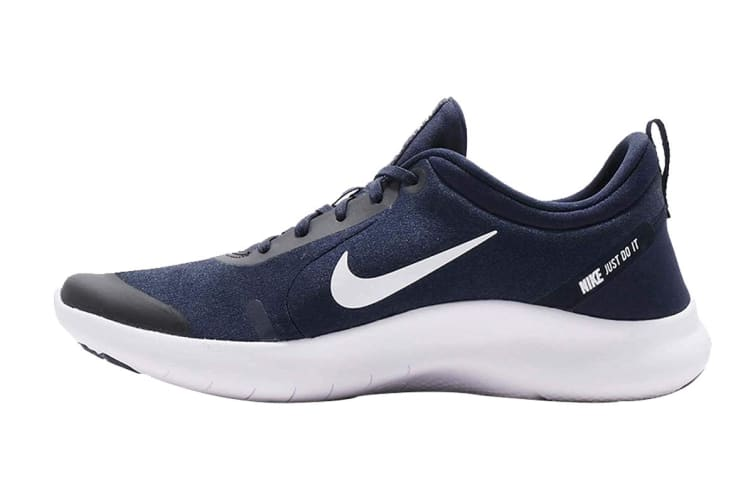 Nike Men's Flex Experience RN 8 (Midnight Navy/White, Size 10.5 US)