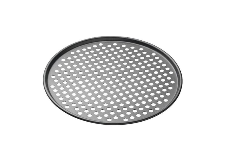 Mastercraft 33cm Round Carbon Steel Non-Stick Pizza Oven Baking Tray Pan Plate