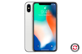 Apple iPhone X Refurbished (256GB, Silver) - A Grade