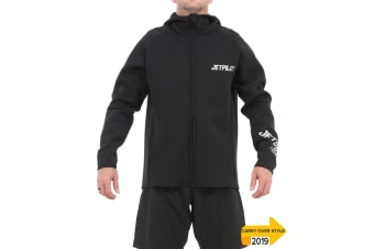 JetPilot Flight Hooded Tour Coat - Black - 3X-Large