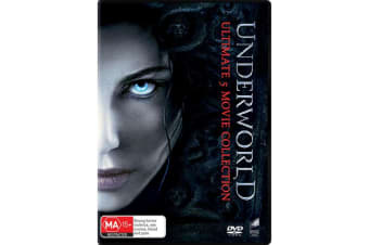 Underworld Ultimate 5 Movie Collection Box Set with Digital Download DVD