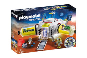 Playmobil Space Mars Space Station Playset
