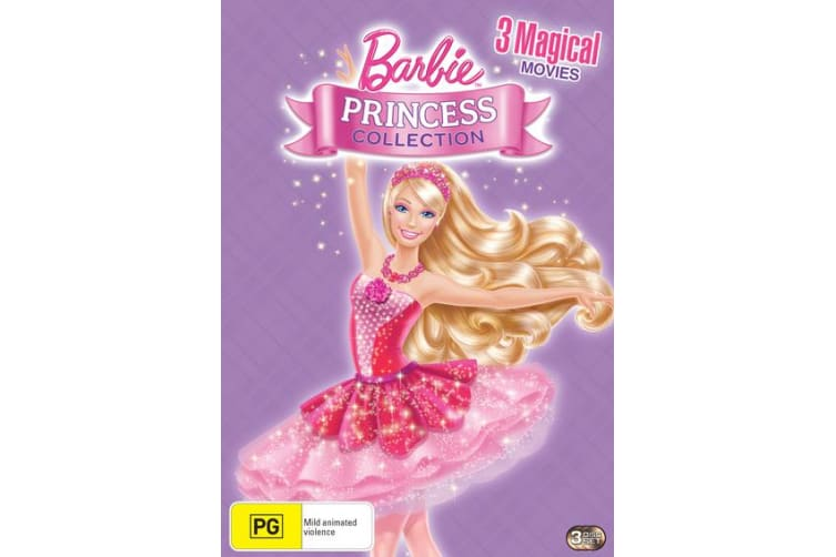 Barbie Princess Collection DVD Region 4