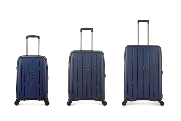 Antler Lightning Roller Case 3 Piece Hardside Luggage Set - Navy