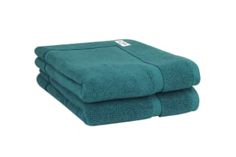 Onkaparinga Haven 600gsm Bath Mat Set of 2 (Jade)